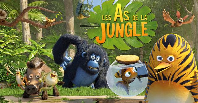 Interview 3dvf les as de la jungle tat productions - Jeux des as de la jungle ...