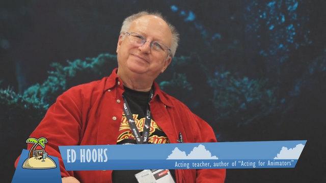 Ed Hooks (via Animator Island)