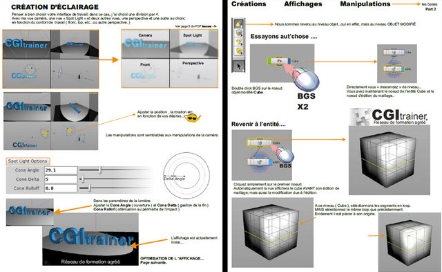 CGItrainer : deux pdf gratuits pour débuter sous Houdini - 3DVF