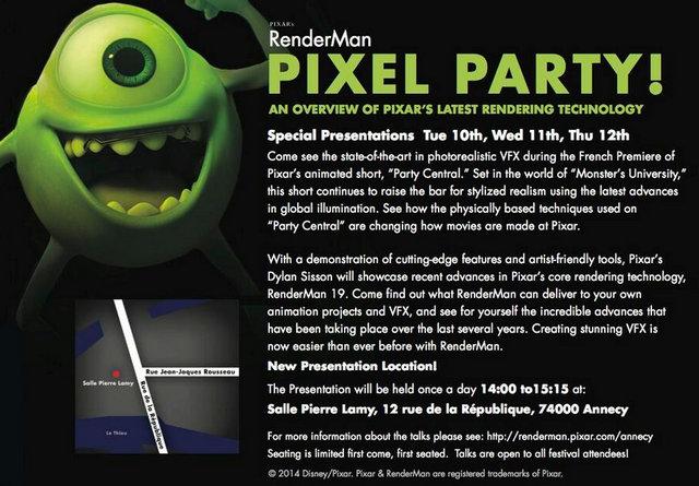 Annecy 2014 les futurs v nements disney pixar for Salon pixar paris