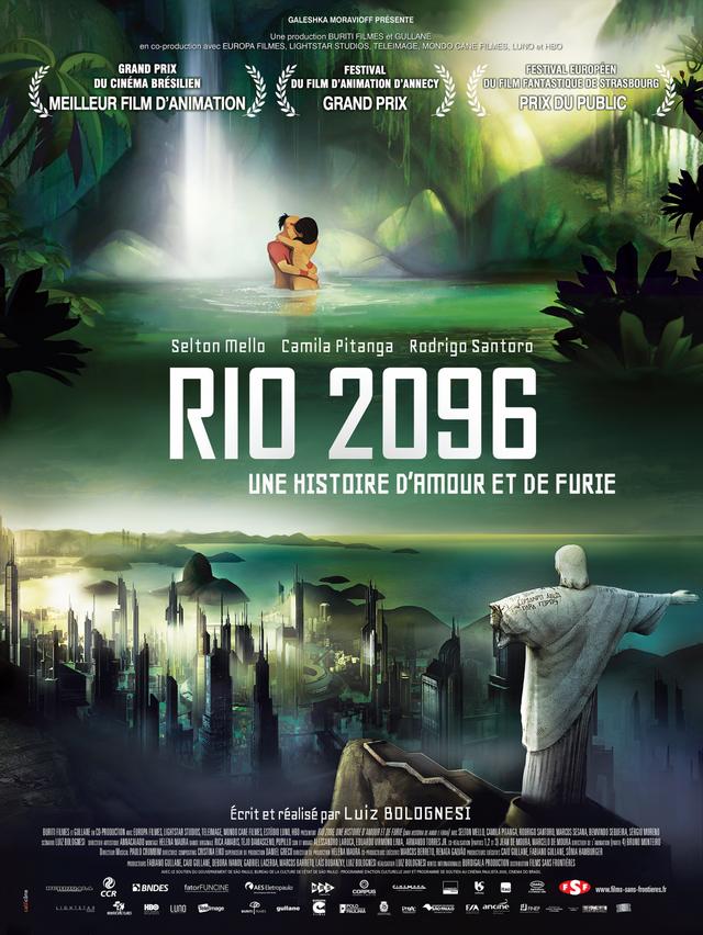 RIO 2096 : UNE HISTOIRE D'AMOUR ET DE FURIE VF 2016