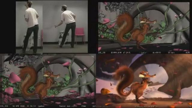 Jeff Gabor : progression de l'animation sur L'Age de Glace 3