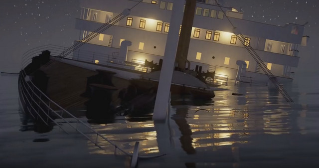 titanic une reconstitution du naufrage minute par