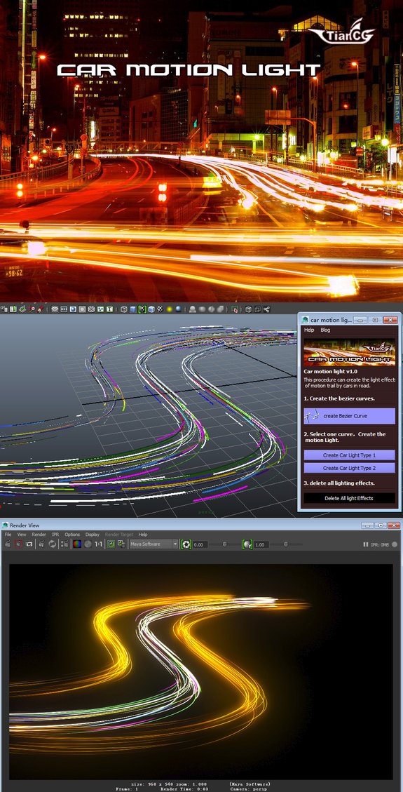 Car Motion Light