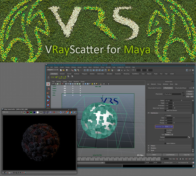 VRayScatter