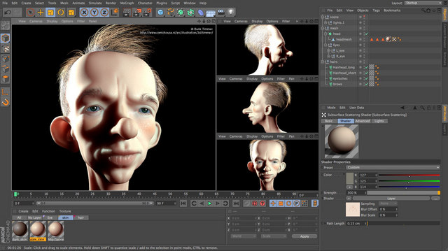 animation 4d