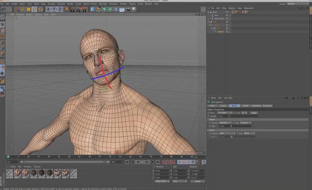 Delta Mush 1 0 pour Cinema 4D - 3DVF