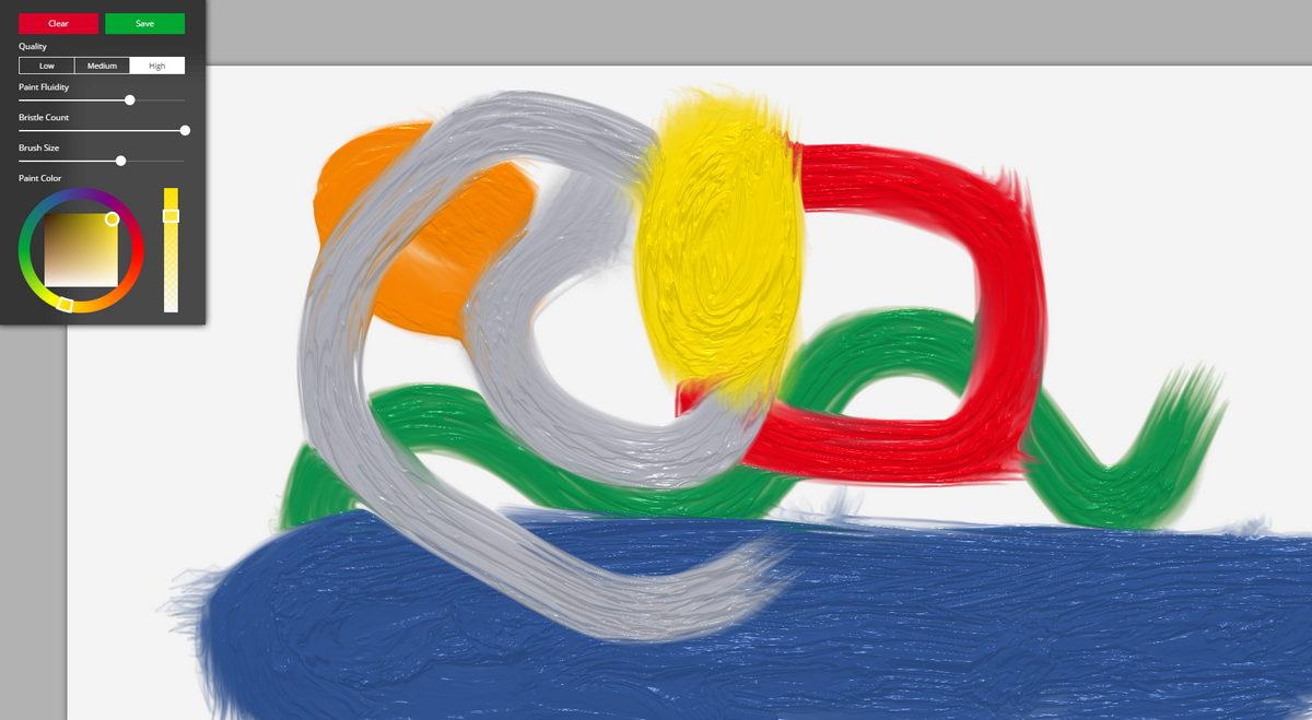 Fluid paint une simulation de peinture l 39 huile en webgl - Simulation de peinture ...