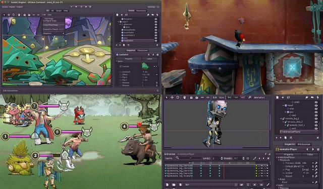 Sortie de Godot, moteur de jeu open source - 3DVF