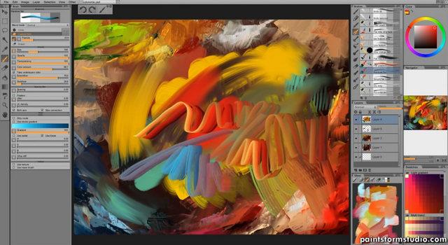 Paintstorm studio logiciel de peinture num rique for Logiciel de peinture interieur gratuit