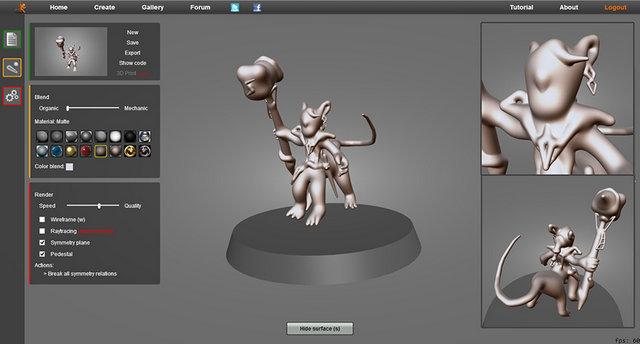 Skimlab mod lisation 3d avanc e en webgl for 3d modelisation