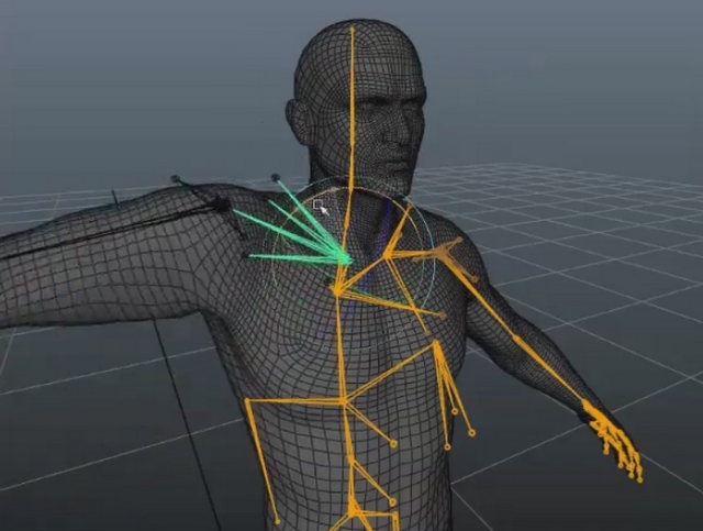 Skinning Converter, par Hans Godard - 3DVF com