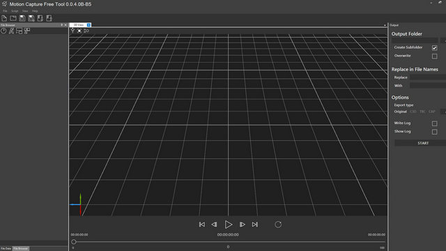 Motion Capture Free Tool