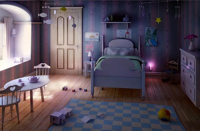 making of children room sc ne inspir e par pixar. Black Bedroom Furniture Sets. Home Design Ideas