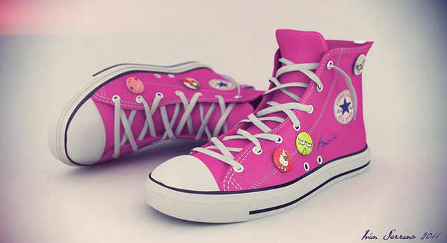 Pink Converse
