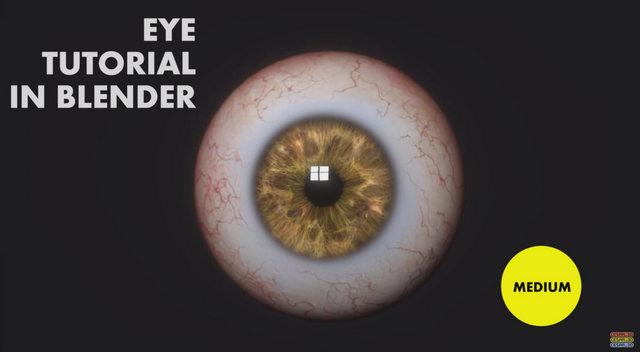 Oeil - Blender