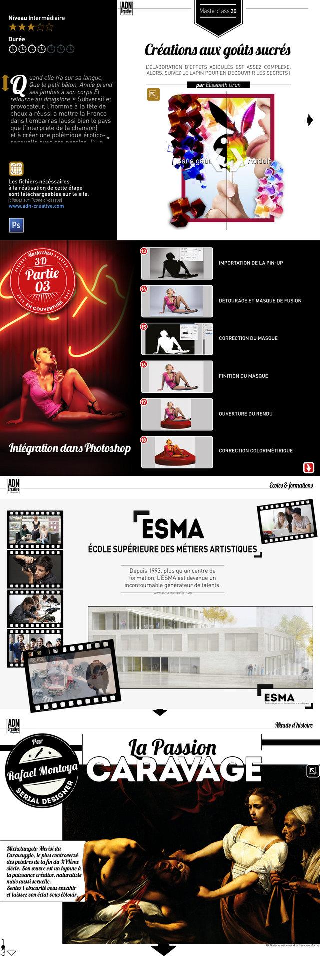 Adn Creative Magazine Magazine Sur Tablettes Pour Les