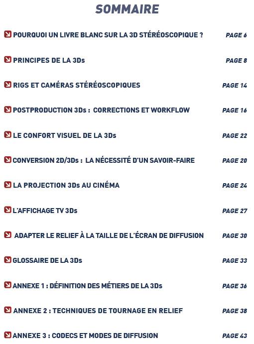 Sortie D Un Livre Blanc Du Relief 3dvf