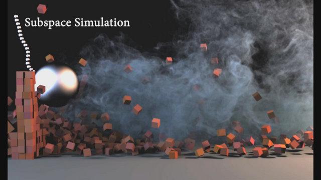 Subspace Simulation