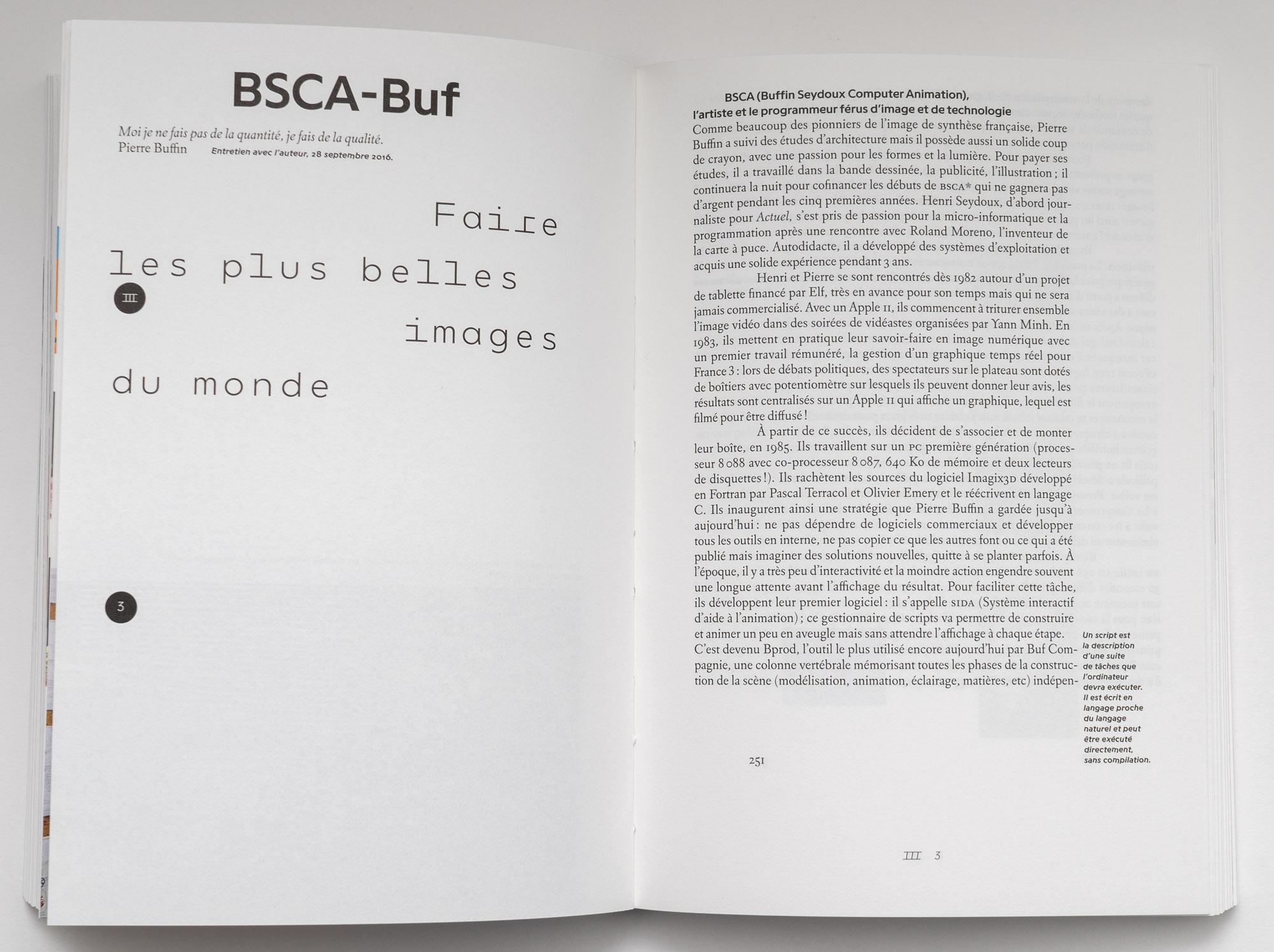 Une histoire française de l'animation numérique en France