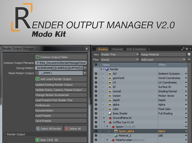 Render Output Manager
