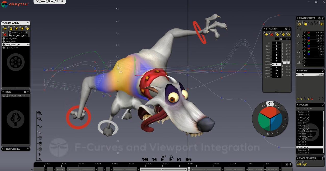 animation 3d sous xsi