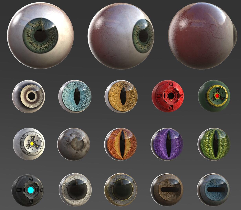 Atomeyes