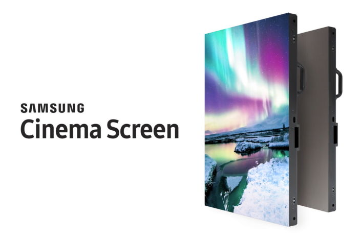 Samsung présente un écran 4K de 10 mètres de diagonale