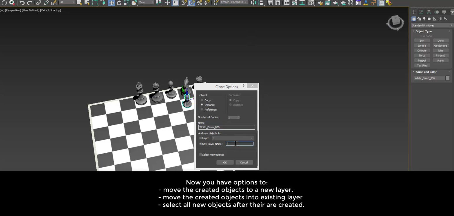 Extend Clone Tool