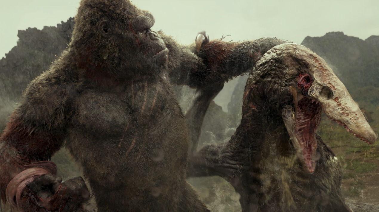 Kong Skull Island Temps