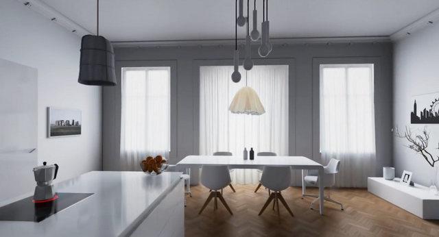 London Apartment, visualisation architecturale sous Unreal