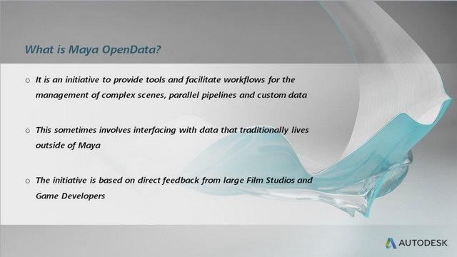 Maya - Open Data