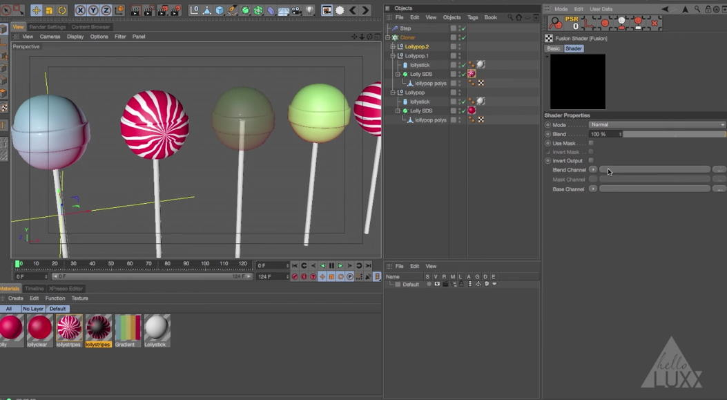 Mograph Shaders