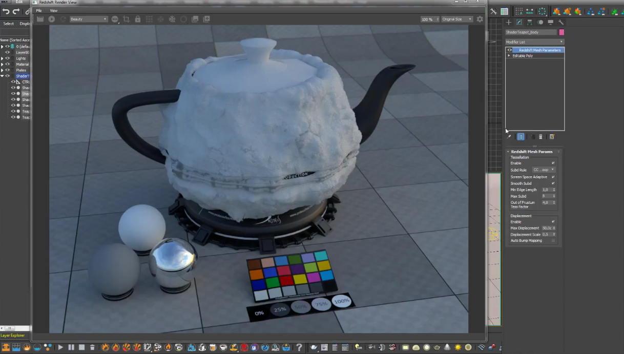 Créer un shader de neige sous Redshift - 3DVF
