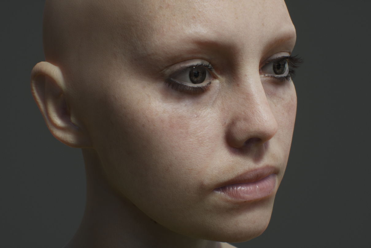Real-time digital Character Siren by Unreal Engine - Suva
