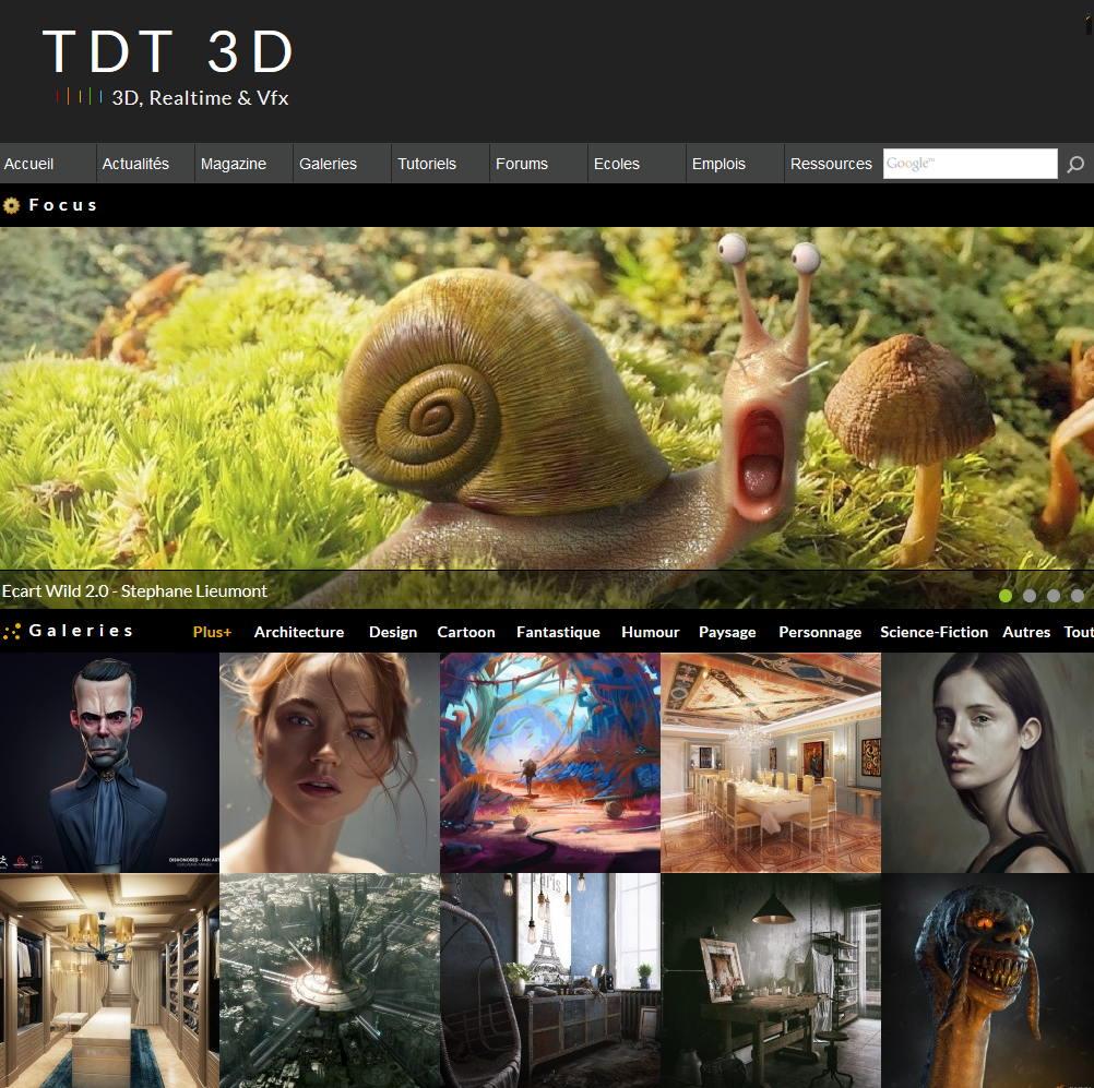 TDT3D