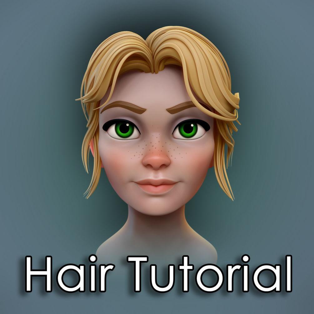 ZBrush - hair