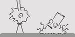 Don Hertzfeldt : couch gag pour Les Simpsons