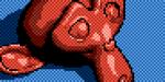 Créer du pixel art sous Blender