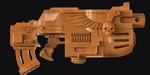 ZBrush : modéliser un fusil d'assaut inspiré de Warhammer 40k