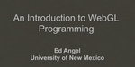 SIGGRAPH University : introduction à la programmation WebGL