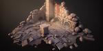 Sculpter des environnements pour le jeu vidéo, sous ZBrush et 3ds Max