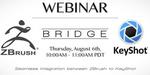 Webinar sur l'utilisation de KeyShot avec ZBrush, le 6 août