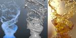 Mix Swirl : projet Maxwell Render et RealFlow par Artem Paramonov