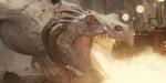 Double Negative : dragon et Hogwarts pour Harry Potter