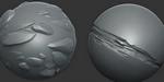ZBrush : trois brosses gratuites de rochers stylisés
