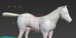 Un rig de cheval gratuit pour 3ds Max