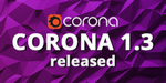 Corona Renderer pour 3ds Max passe en version 1.3