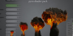 Pyro shader pack pour Blender