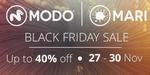 MARI, MODO en promotion : 40% de réduction de vendredi à lundi